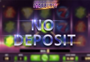 Starburst Slot No Deposit