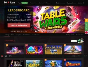 BitStarz Casino Screenshot #1