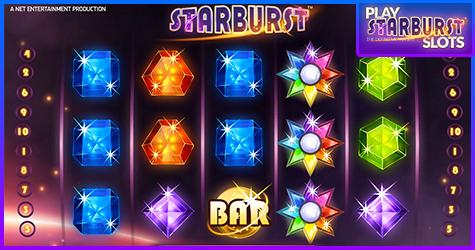 Starburst Slots Bitcoin Casino